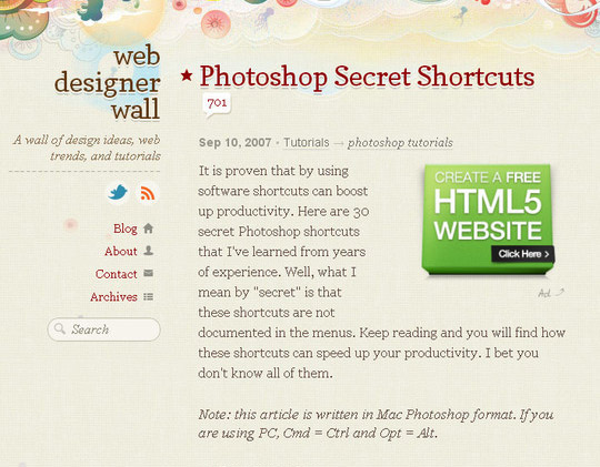 40 Must Have Cheat Sheets For Graphic Designers And Developers 13