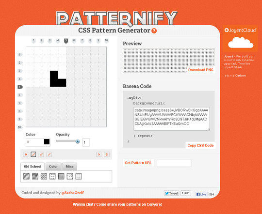40 Free And Useful Online Generators For Web Designers 12