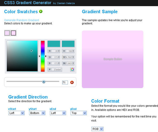 40 Free And Useful Online Generators For Web Designers 5