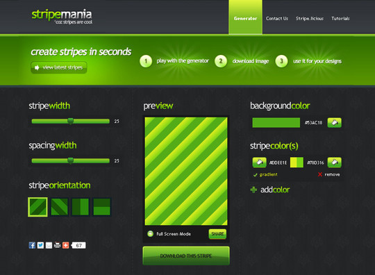 40 Free And Useful Online Generators For Web Designers 2
