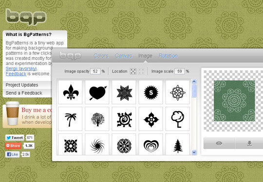 40 Free And Useful Online Generators For Web Designers 8
