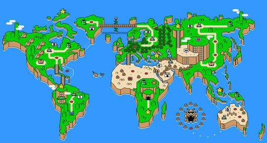 Showcase Of Creative Remakes Of The World Map 22