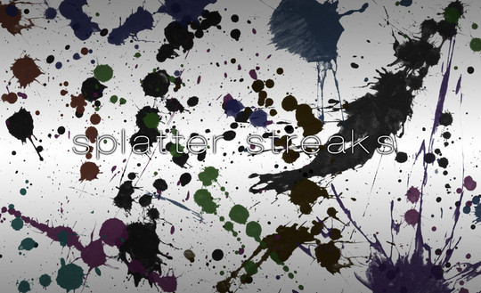 45 Free Watercolor, Ink And Splatters Brushes For Photoshop 3
