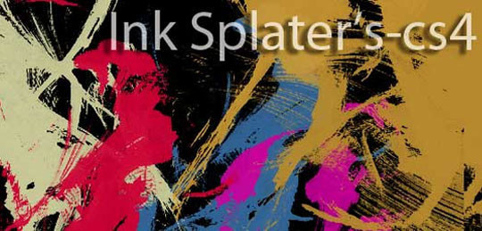 45 Free Watercolor, Ink And Splatters Brushes For Photoshop 19