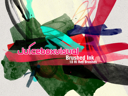 45 Free Watercolor, Ink And Splatters Brushes For Photoshop 22