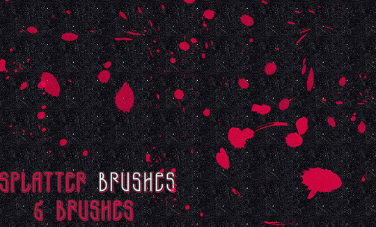45 Free Watercolor, Ink And Splatters Brushes For Photoshop 8