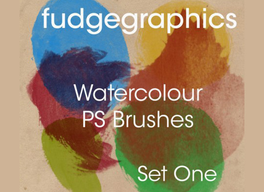 45 Free Watercolor, Ink And Splatters Brushes For Photoshop 29