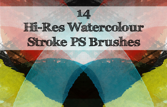 45 Free Watercolor, Ink And Splatters Brushes For Photoshop 31