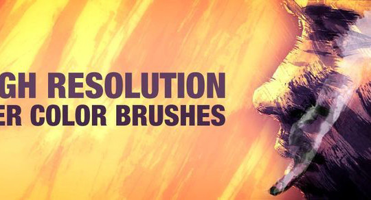 45 Free Watercolor, Ink And Splatters Brushes For Photoshop 32