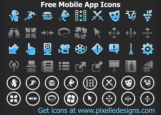 11 Useful And Free iPhone Toolbar Icon Sets 5