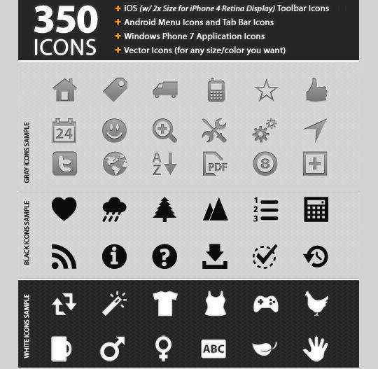 11 Useful And Free iPhone Toolbar Icon Sets 6