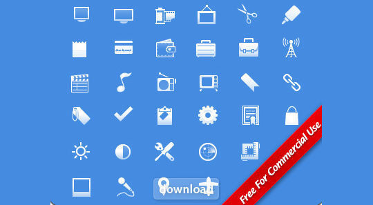 11 Useful And Free iPhone Toolbar Icon Sets 7