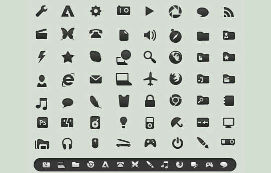 11 Useful And Free iPhone Toolbar Icon Sets 10