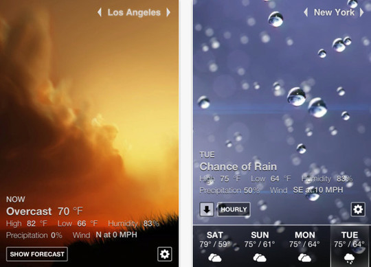 20 Best Free Weather iPhone Apps 17