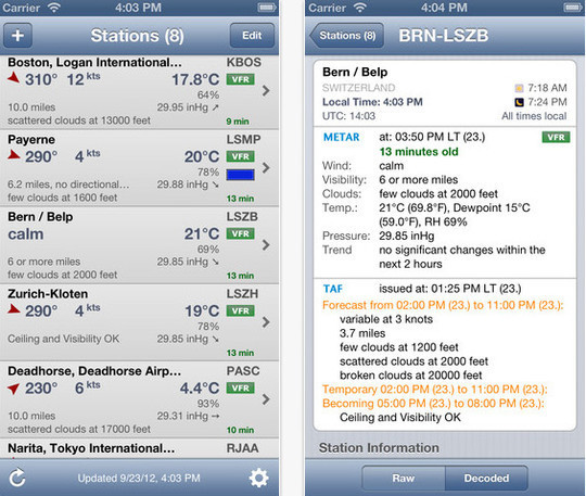 20 Best Free Weather iPhone Apps 3