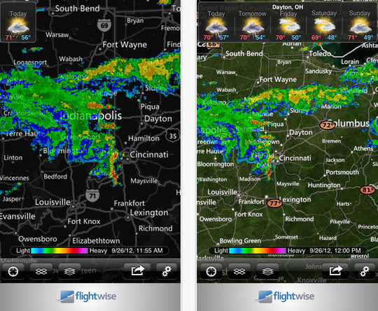 20 Best Free Weather iPhone Apps 4