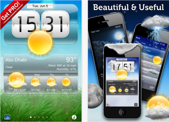 20 Best Free Weather iPhone Apps 7
