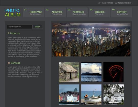 40 High Quality Photoshop Web Layout Tutorials 16