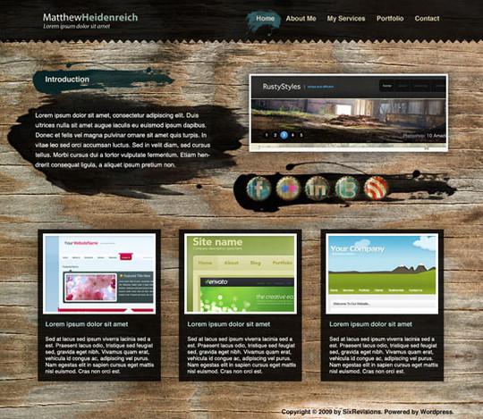 40 High Quality Photoshop Web Layout Tutorials 6
