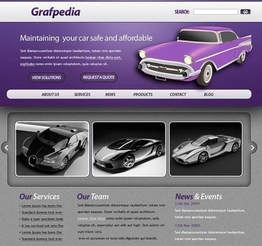 40 High Quality Photoshop Web Layout Tutorials 28