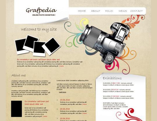 40 High Quality Photoshop Web Layout Tutorials 31