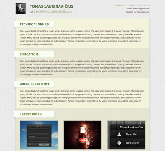 40 High Quality Photoshop Web Layout Tutorials 9