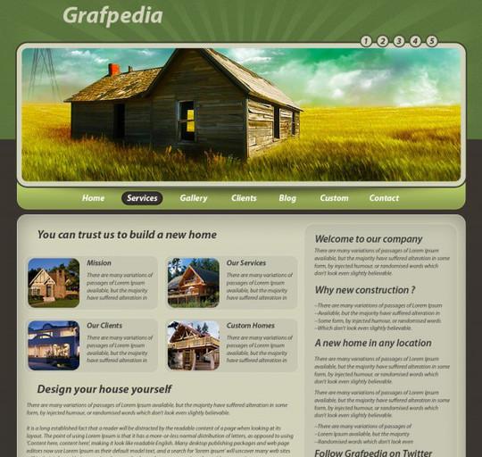 40 High Quality Photoshop Web Layout Tutorials 34