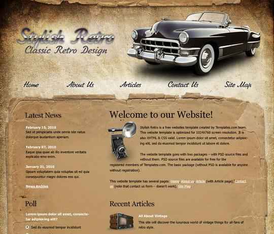 40 High Quality Photoshop Web Layout Tutorials 1