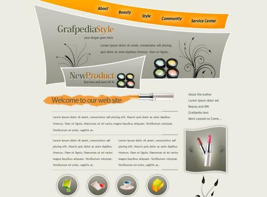 40 High Quality Photoshop Web Layout Tutorials 38