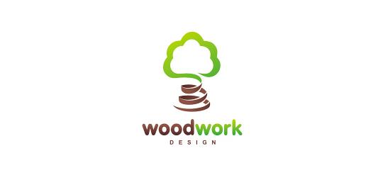 17 Creatively Designed Wood Inspired Logo Designs 8