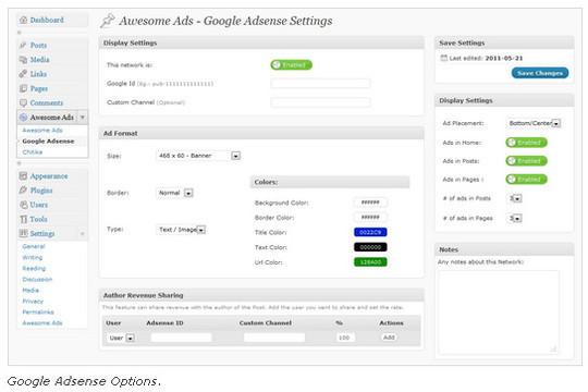 Ultimate Collection Of Google Adsense Wordpress Plugins 5