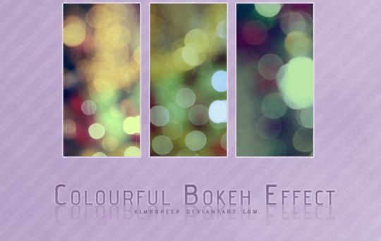 40 Free Beautiful Photoshop Bokeh Brushes 18