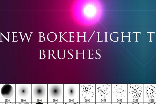 40 Free Beautiful Photoshop Bokeh Brushes 21