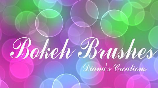 40 Free Beautiful Photoshop Bokeh Brushes 30