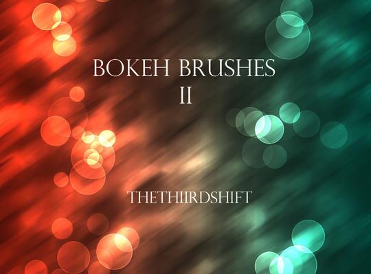 40 Free Beautiful Photoshop Bokeh Brushes 33