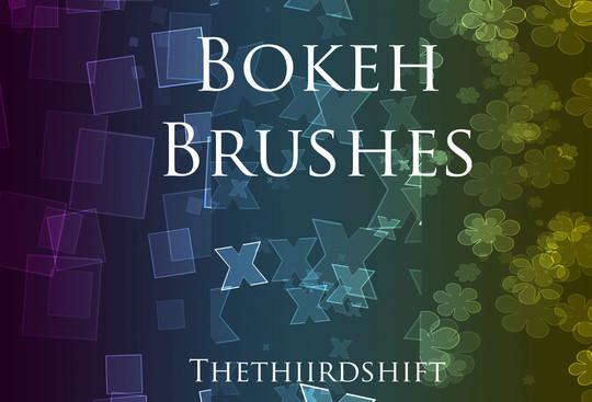 40 Free Beautiful Photoshop Bokeh Brushes 34