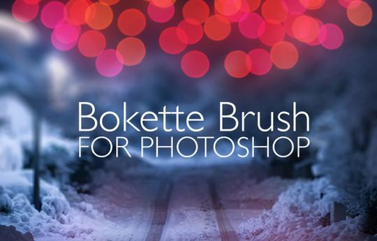 40 Free Beautiful Photoshop Bokeh Brushes 6