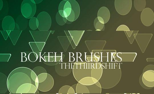 40 Free Beautiful Photoshop Bokeh Brushes 12