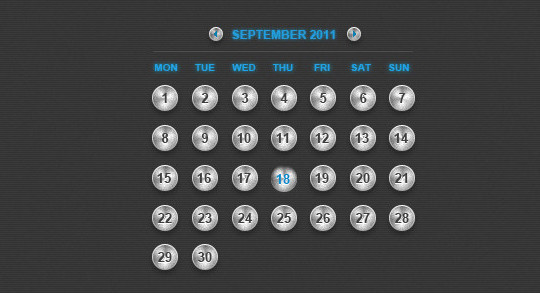 40 Useful And Free Calendar Designs In PSD Format 10
