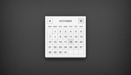 40 Useful And Free Calendar Designs In PSD Format 17