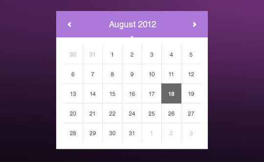 40 Useful And Free Calendar Designs In PSD Format 20