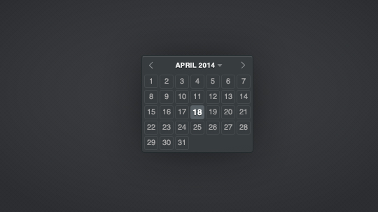 40 Useful And Free Calendar Designs In PSD Format 22