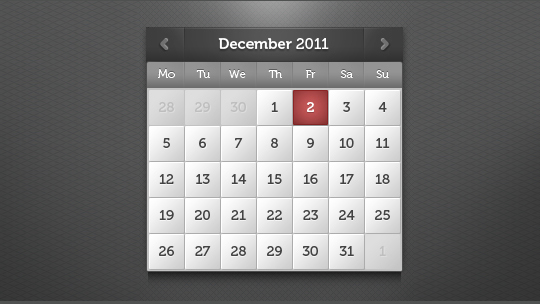 40 Useful And Free Calendar Designs In PSD Format 23