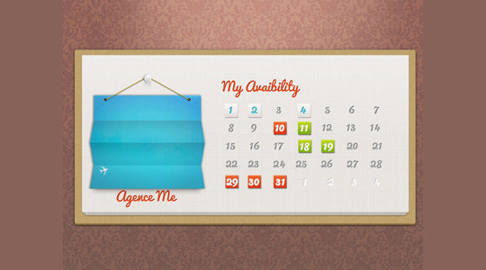 40 Useful And Free Calendar Designs In PSD Format 11