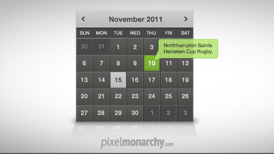 40 Useful And Free Calendar Designs In PSD Format 1