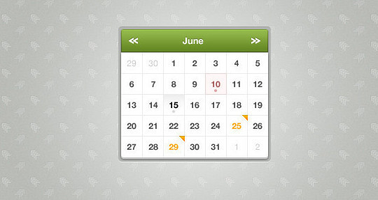 40 Useful And Free Calendar Designs In PSD Format 24