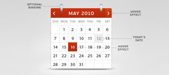 40 Useful And Free Calendar Designs In PSD Format 26