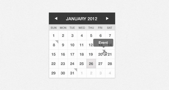 40 Useful And Free Calendar Designs In PSD Format 27