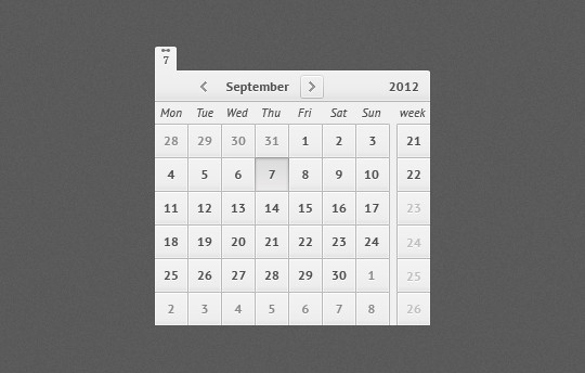 40 Useful And Free Calendar Designs In PSD Format 5