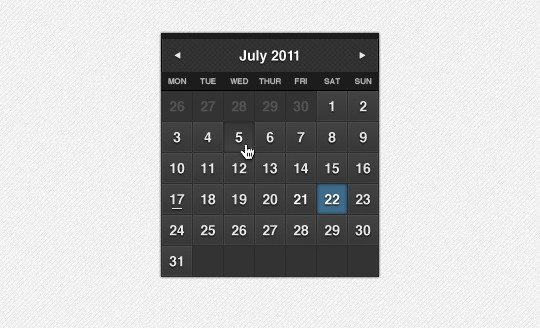 40 Useful And Free Calendar Designs In PSD Format 35